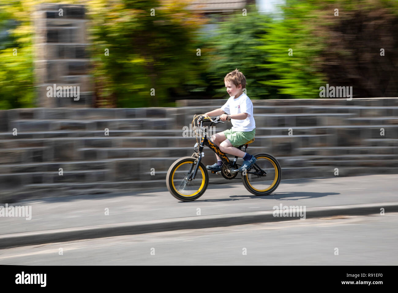 Child's Bike Stock Photos & Child's Bike Stock Images - Alamy