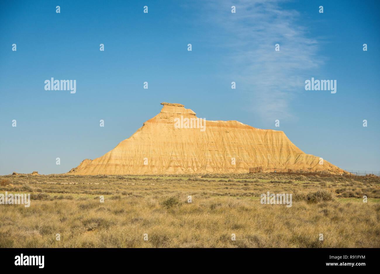 Bradenas Reales, Navarra (Spain) - Stock Image