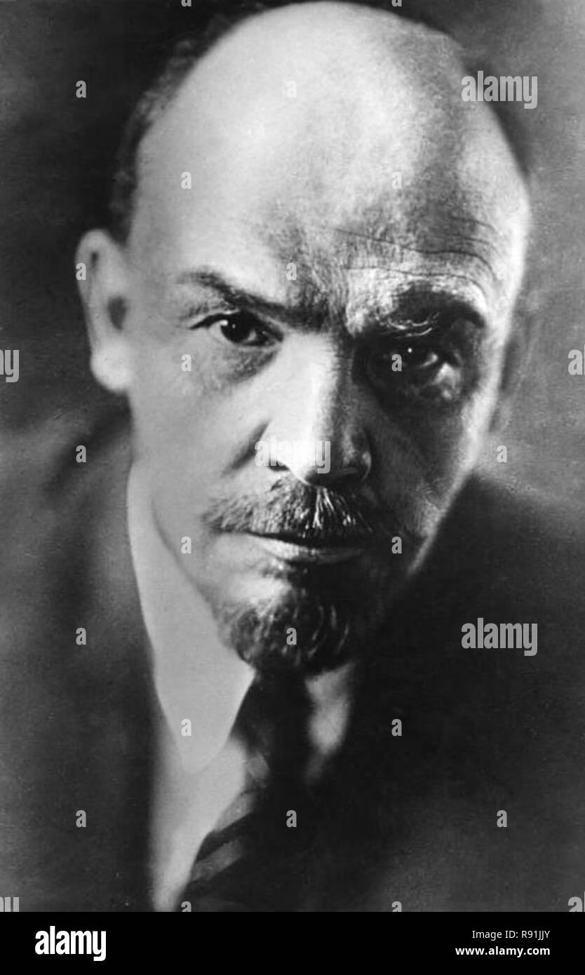 Lenin, Vladimir Ilyich Ulyanov (1870 – 1924), Lenin Russian communist revolutionary, politician, and political theorist. - Stock Image