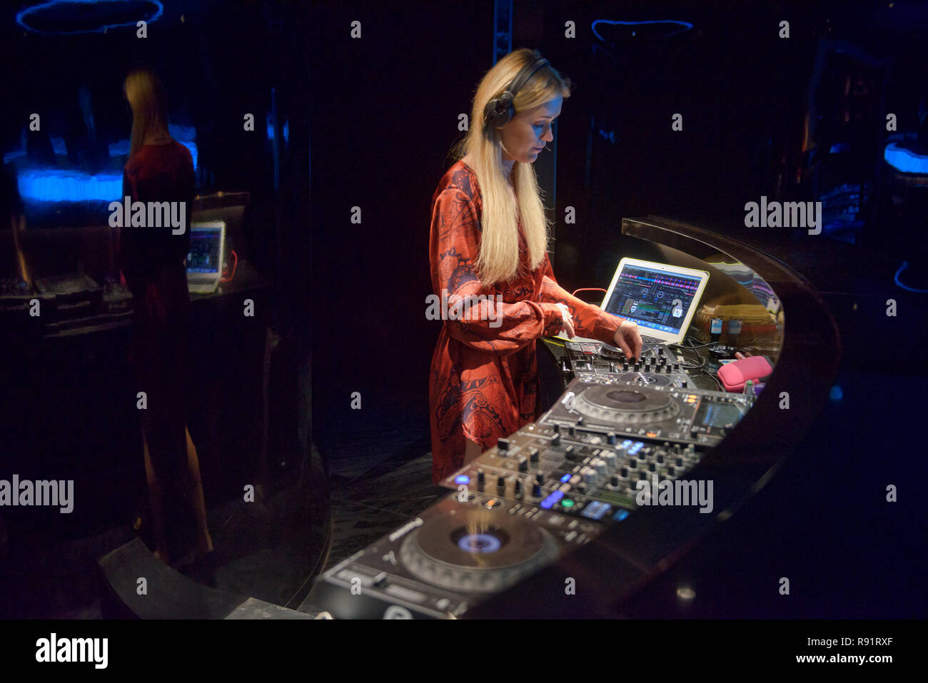 International DJ, Bangkok, Thailand - Stock Image