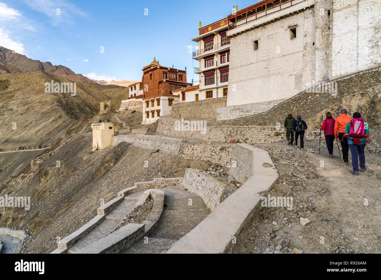 Trekking in Ladakh, Northern India Stock Photo