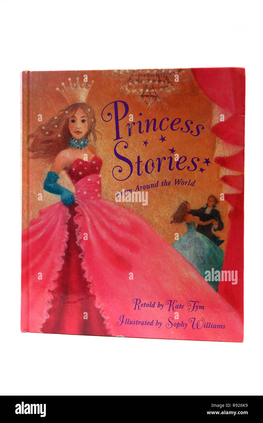 Princess Stories From Around the World Book - The Kingdom under the Sea Story Kate Tym - Stock Image