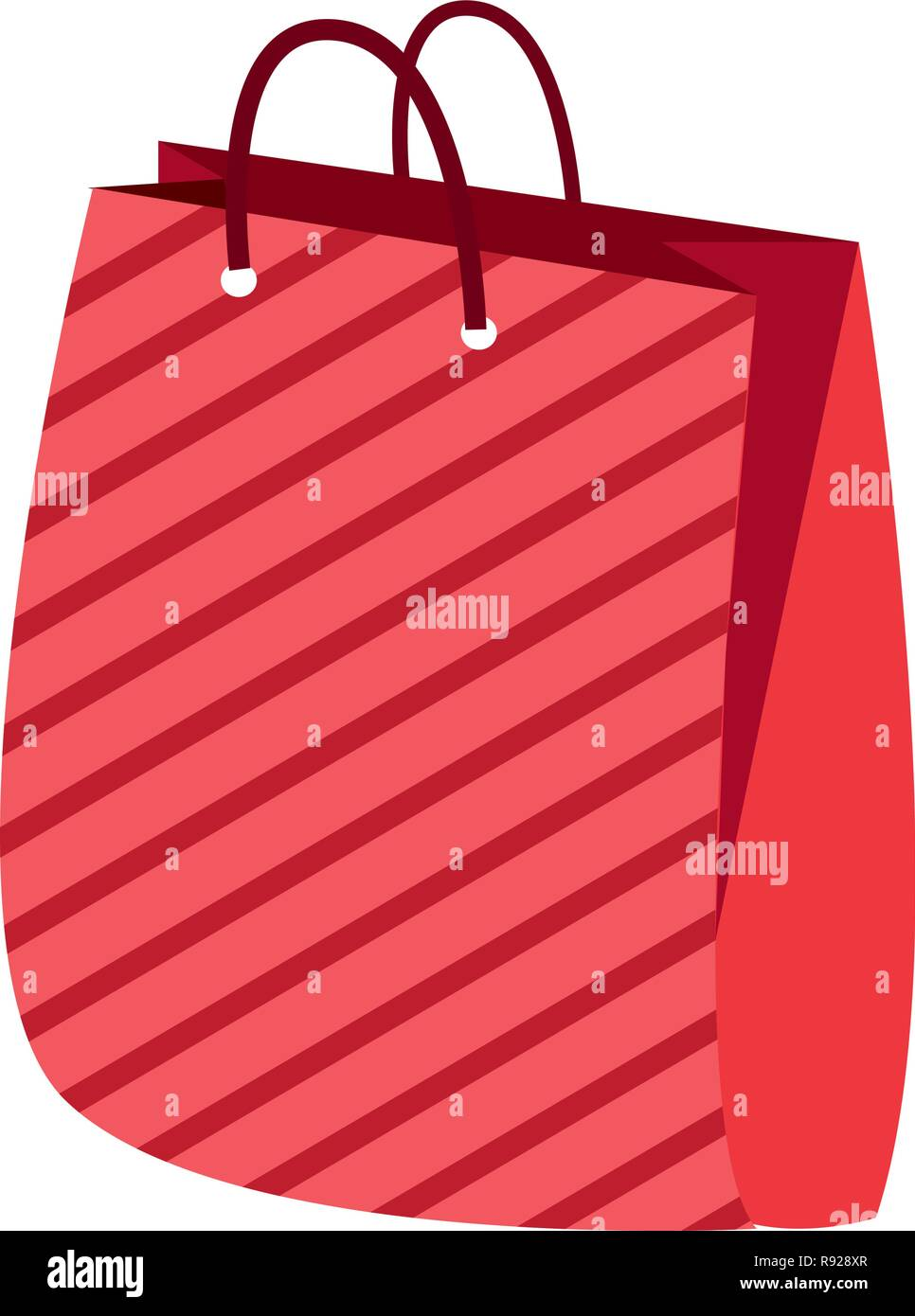 online shopping bag ribbon offer vector illustration Stock Vector ... 910a2a6a180b5