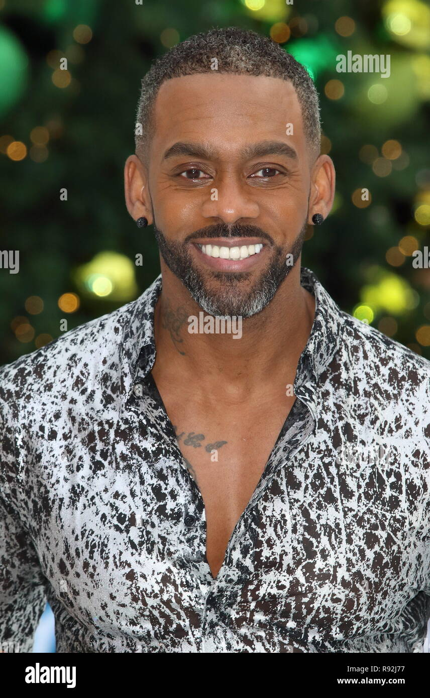 Richard Blackwood At The Dancing On Ice Launch Showcase At The Natural History Museum Ice Rink Kensington Credit Keith Mayhew Sopa Images Zuma Wire Alamy
