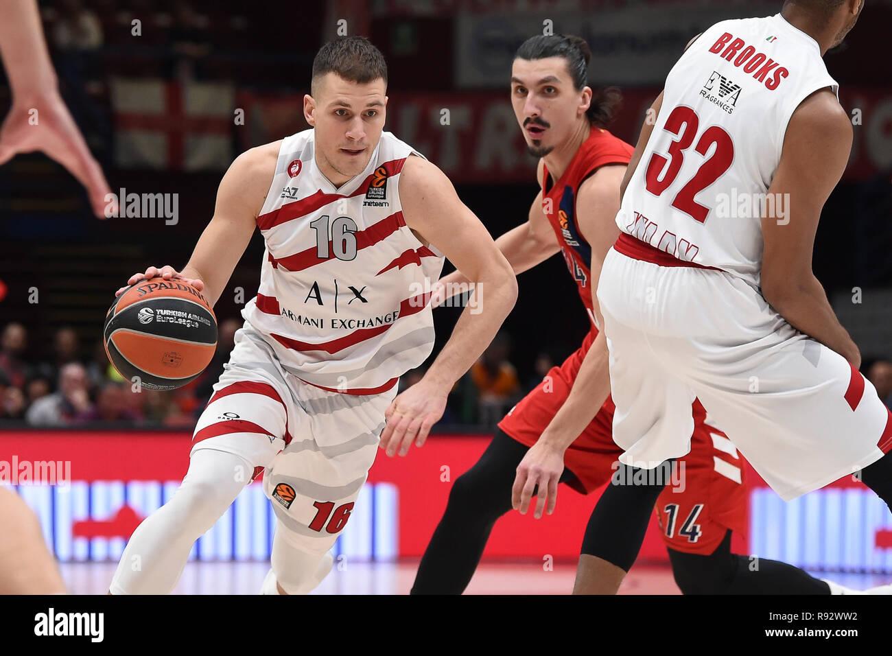 d692892bc40 Foto Claudio Grassi/LaPresse 19 dicembre 2018 Assago (MI) Italia sport  basket AX