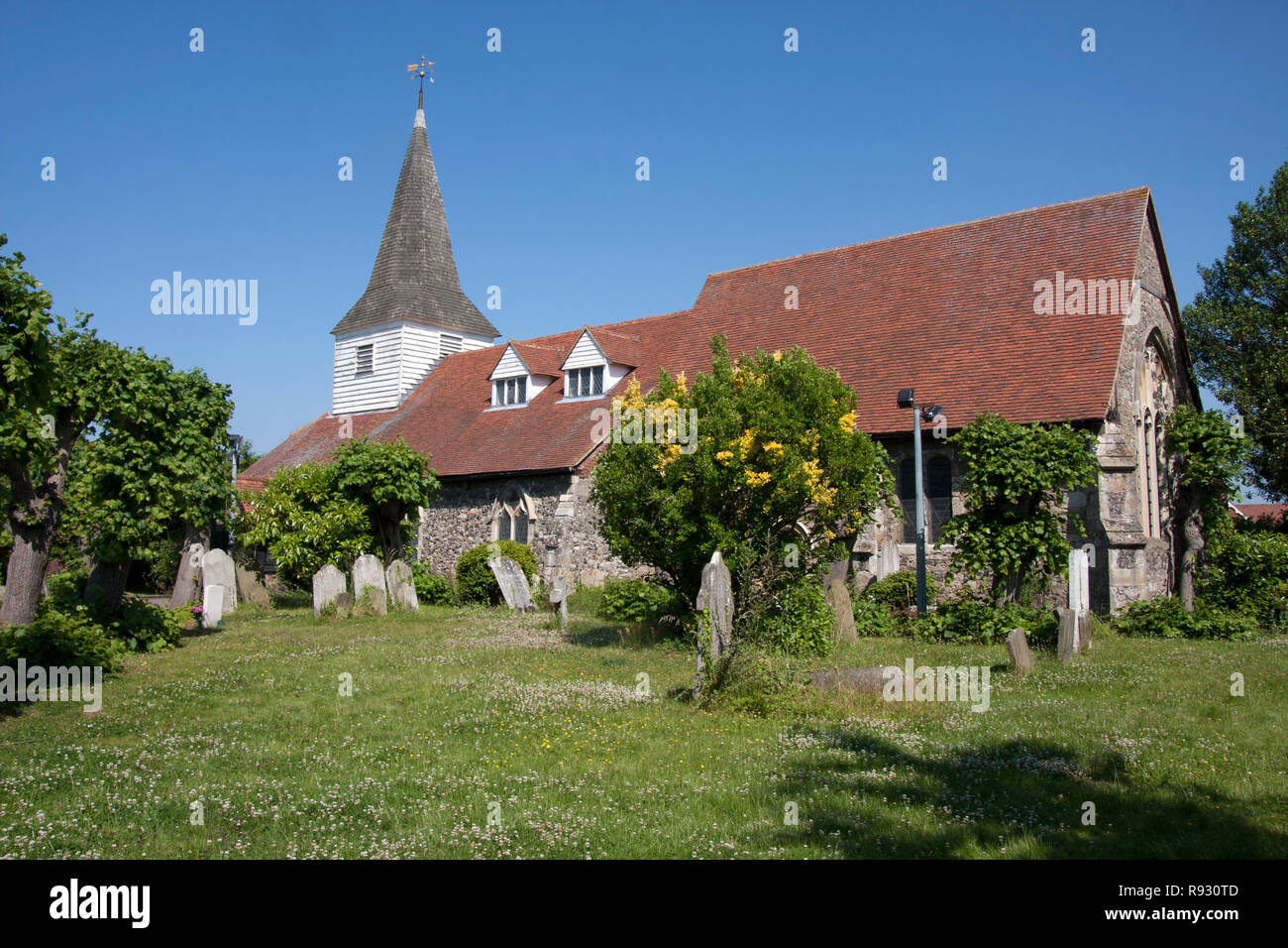 St Peter Paul Church, Horndon on the Hill, Essex, England Stock Photo