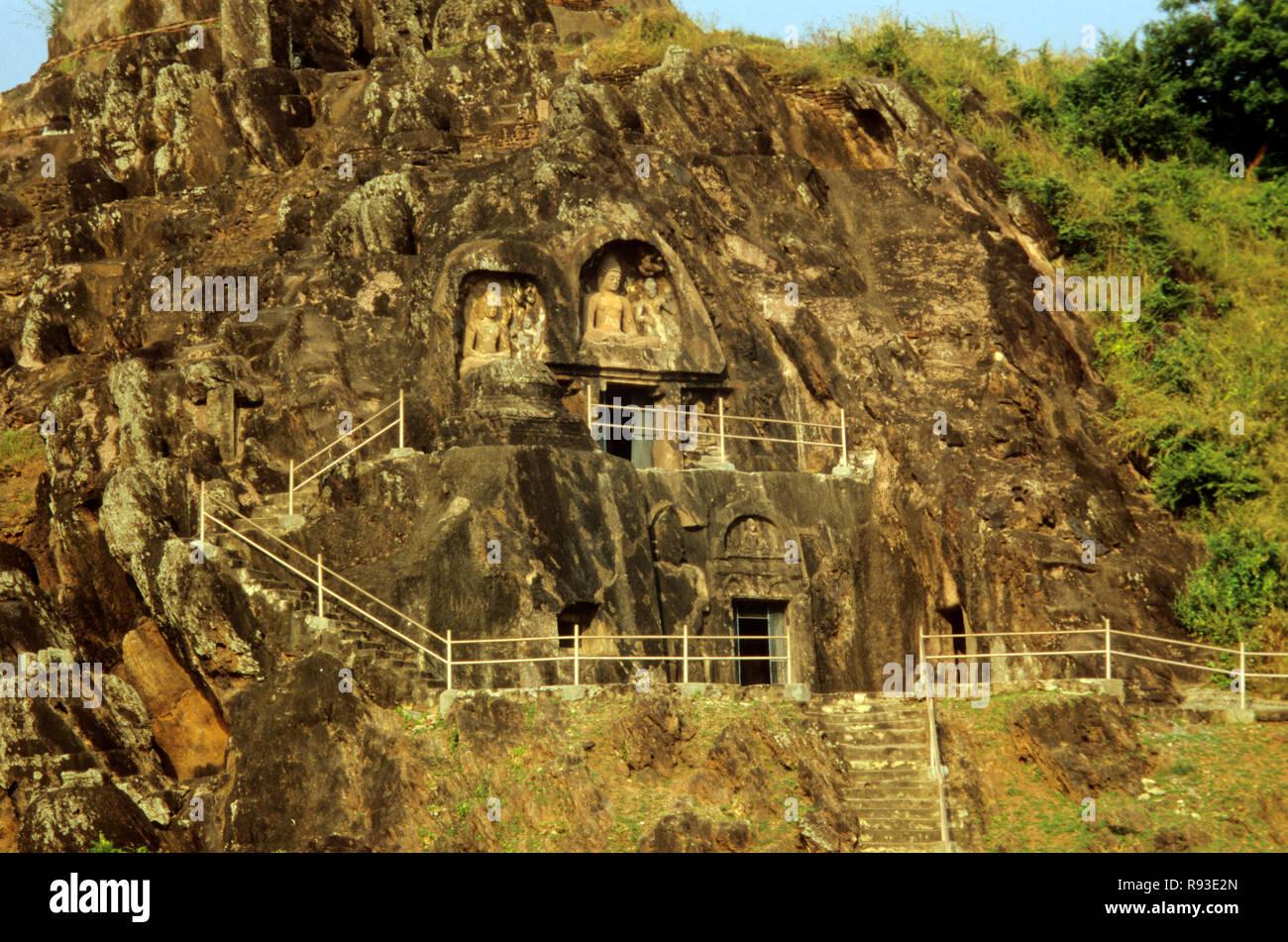 Sankaram, Buddhist Pilgrimage, Visakhapatnam, andhra pradesh, india - Stock Image