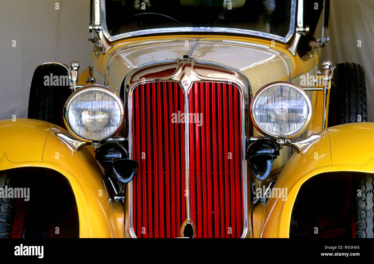 Antique Cars - Stock Image