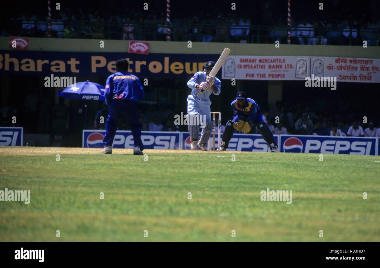 India Srilanka Cricket Match - Stock Image