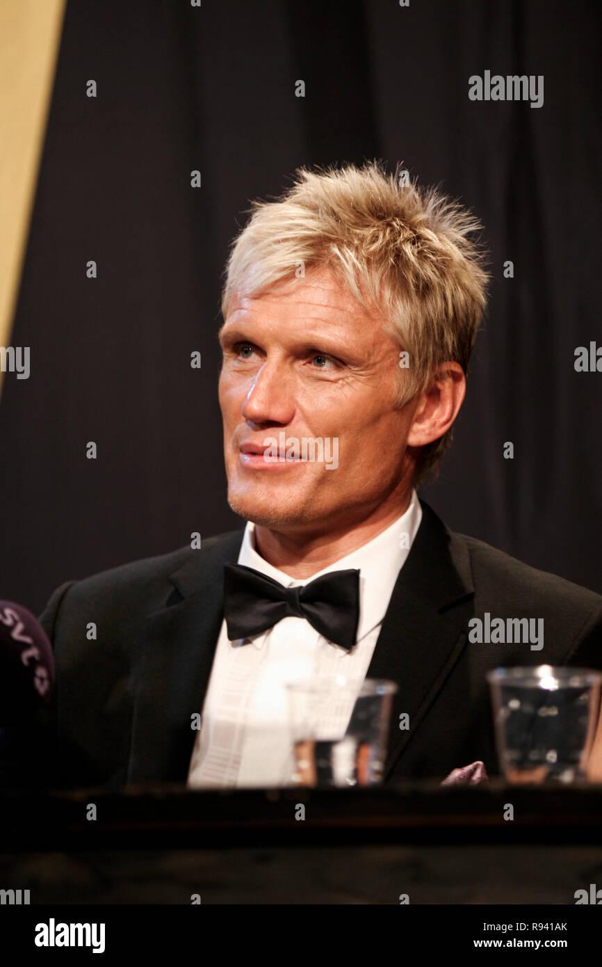 DOLPH LUNDGREN Swedish actor - Stock Image