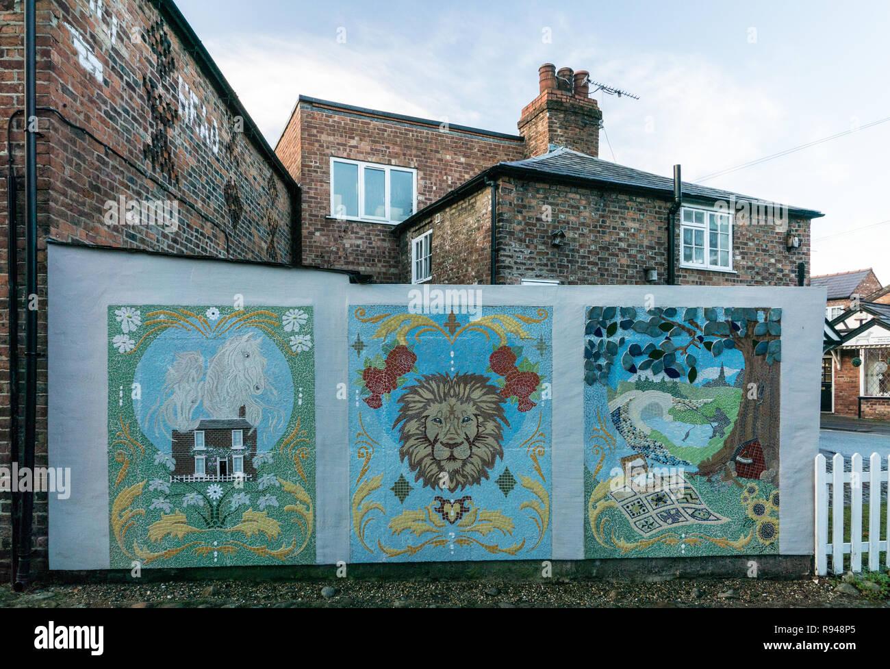 Davenham, Cheshire UK - Stock Image