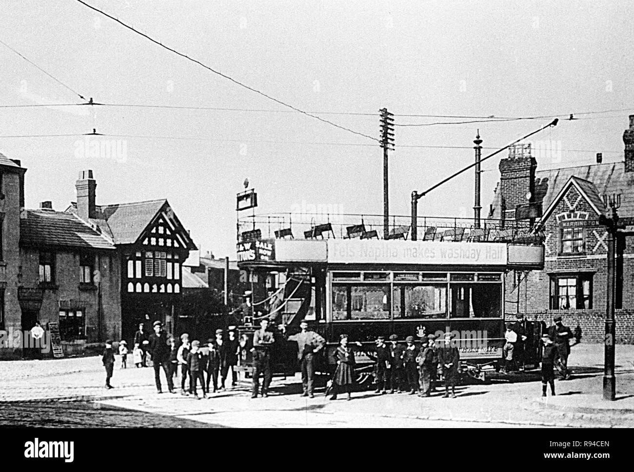 Victoria Square, Stockton Heath - Stock Image