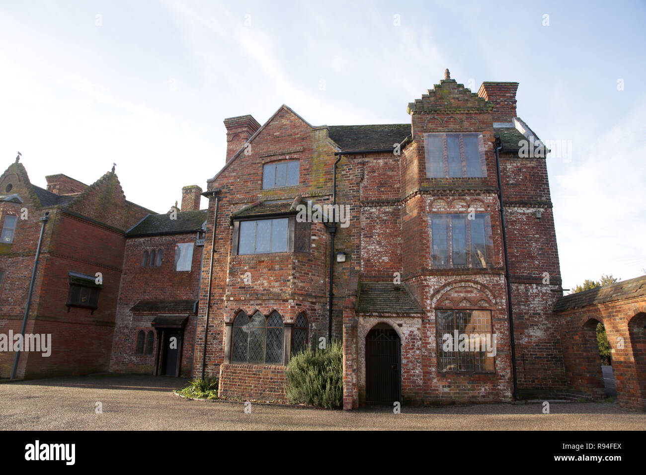 Haden old hall at Cradley Heath, Sandwell, West midlands, England, UK. - Stock Image