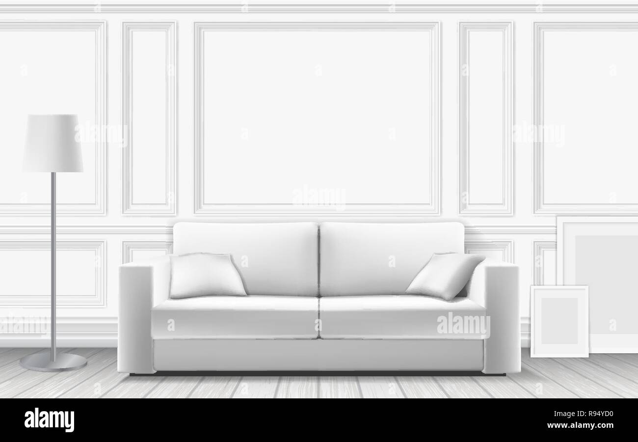 Enjoyable Modern Sofa On Background Of White Wall Decorated With Gamerscity Chair Design For Home Gamerscityorg