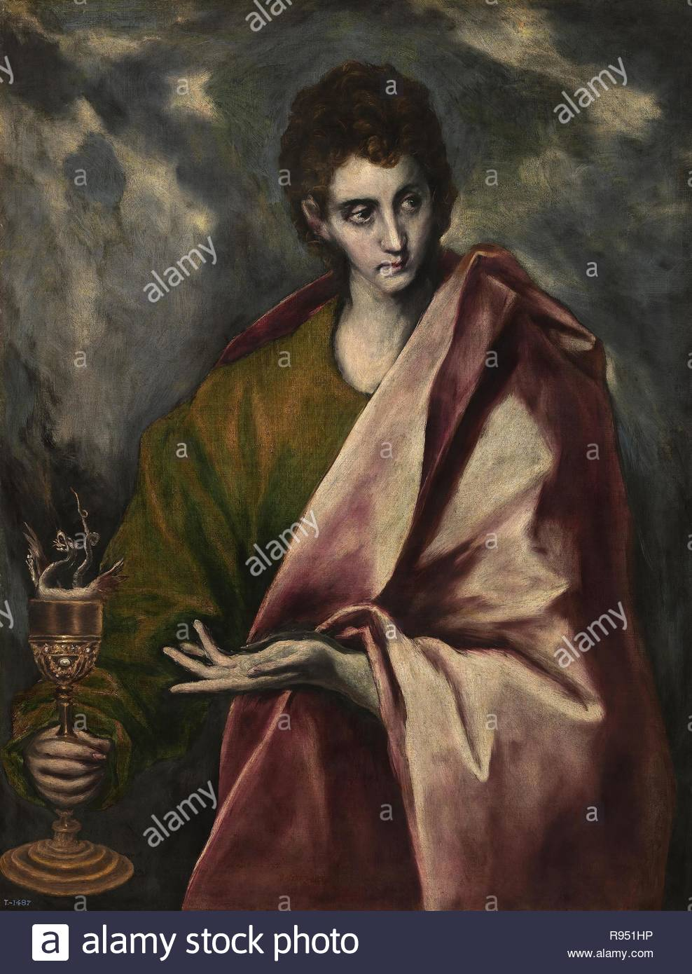 El Greco (and workshop) / 'Saint John the Evangelist', ca  1605