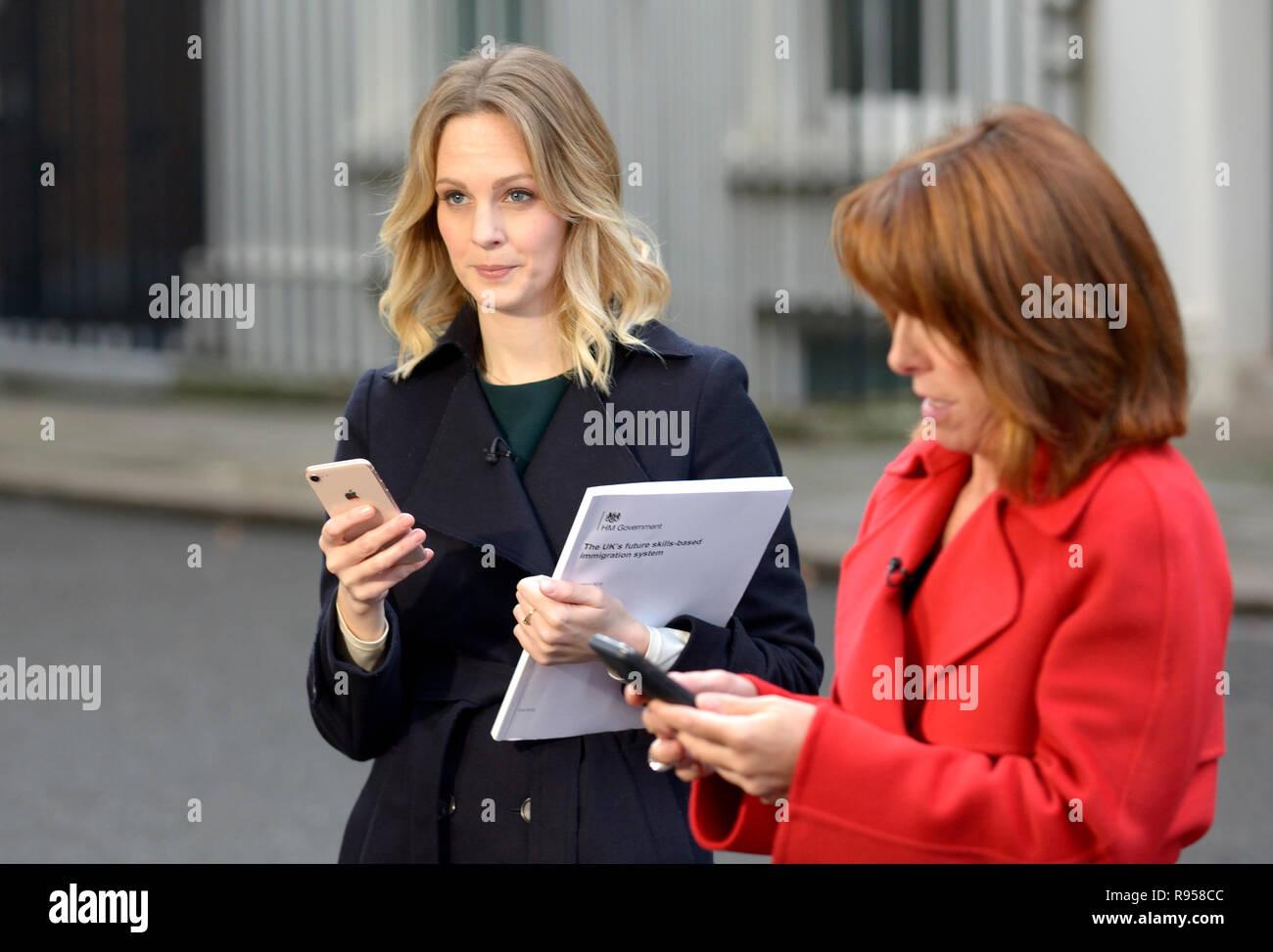 Kate McCann (SKY News Reporter) With Kay Burley (News