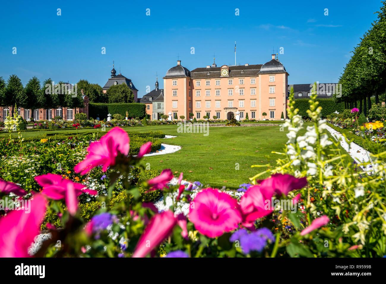 Palace, Schwetzingen, Germany - Stock Image