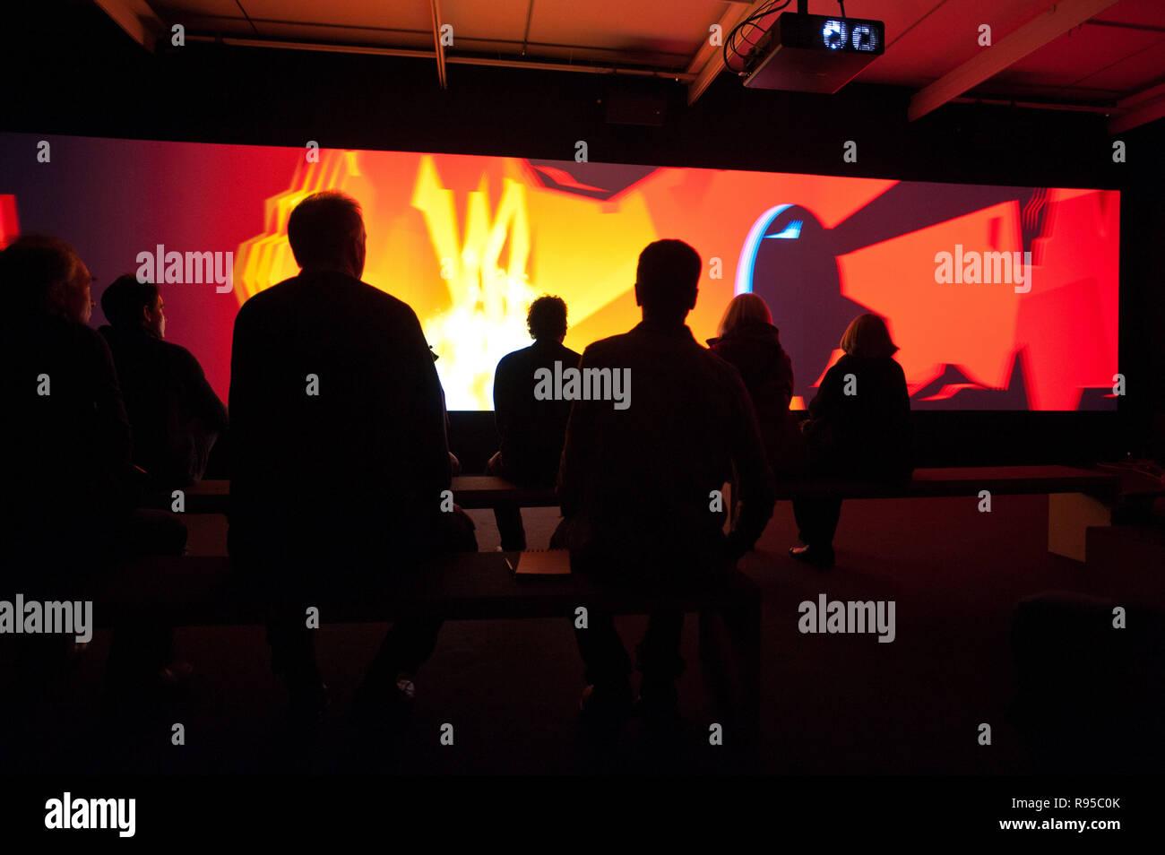 25.01.2013, Germany, Hamburg, Hamburg - Ausstellung -25 Jahre PIXAR- in Hamburg im Museum fuer Kunst und Gewerbe. 0RX130125D531CAROEX.JPG GT [MODEL RE Stock Photo