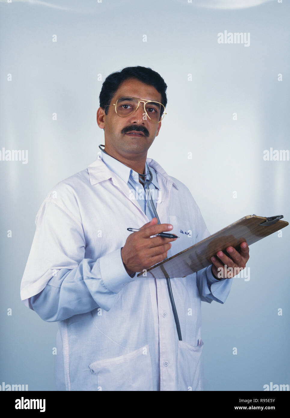 doctor, india, MR - Stock Image
