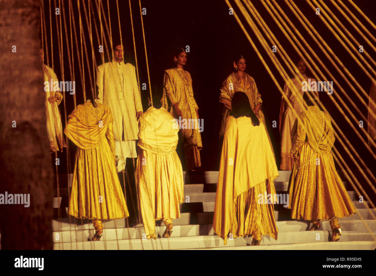 Fashion Show in India - Stock Image