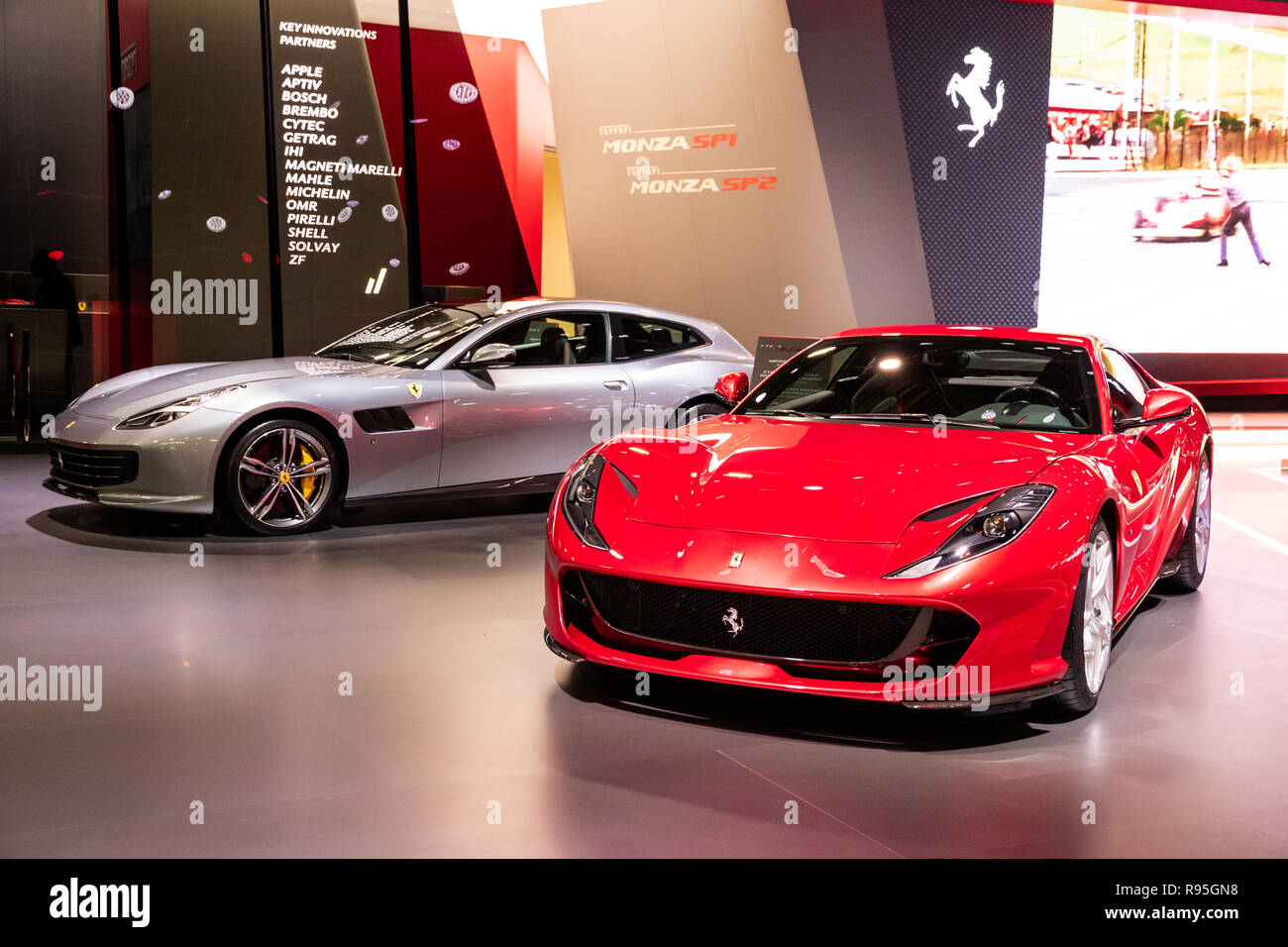 Ferrari 812 Superfast Stock Photos Ferrari 812 Superfast Stock