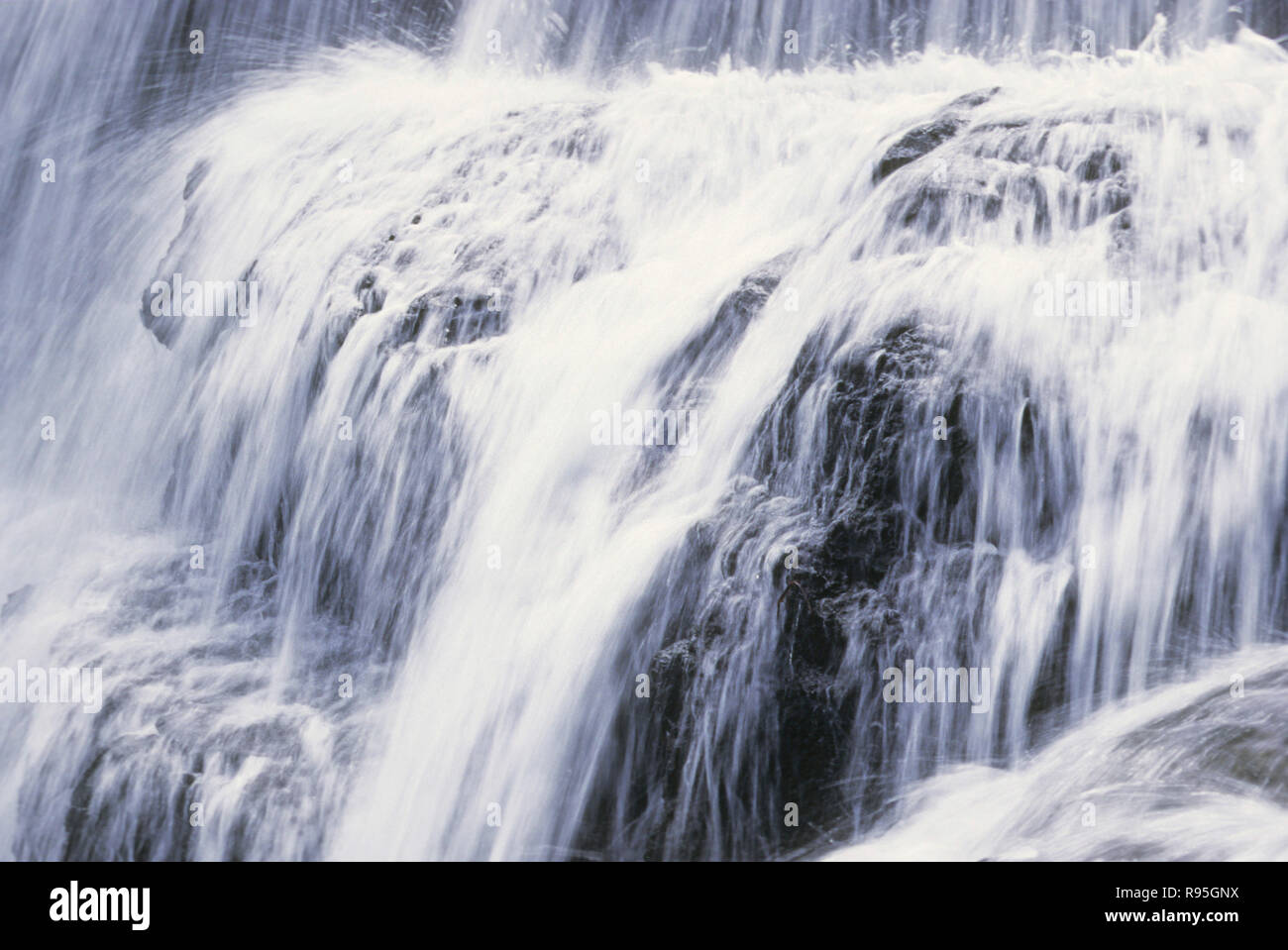 Chinchoti waterfall at Vasai, Maharashtra, India - Stock Image