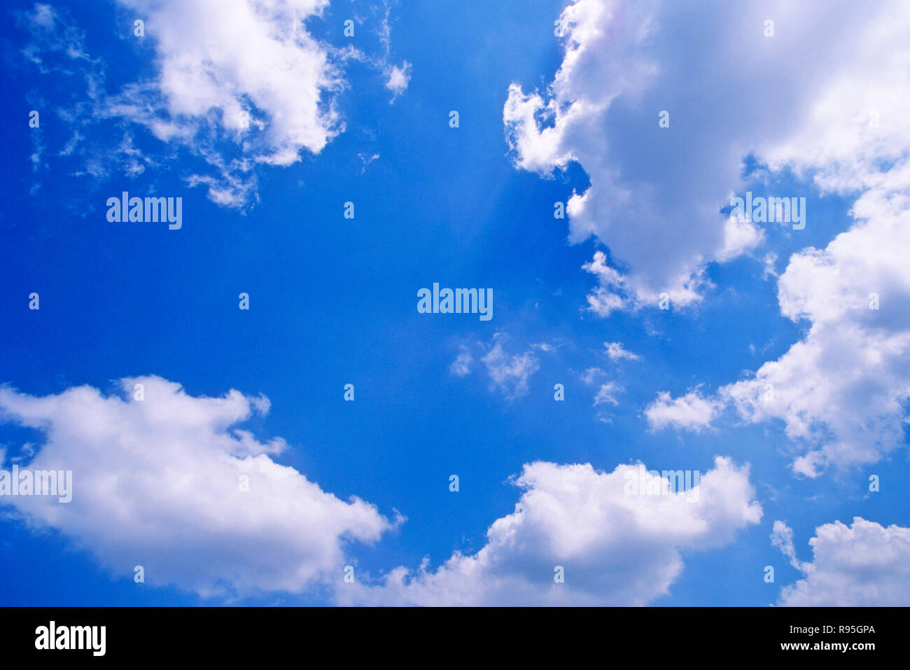 Cloud and sky - Stock Image