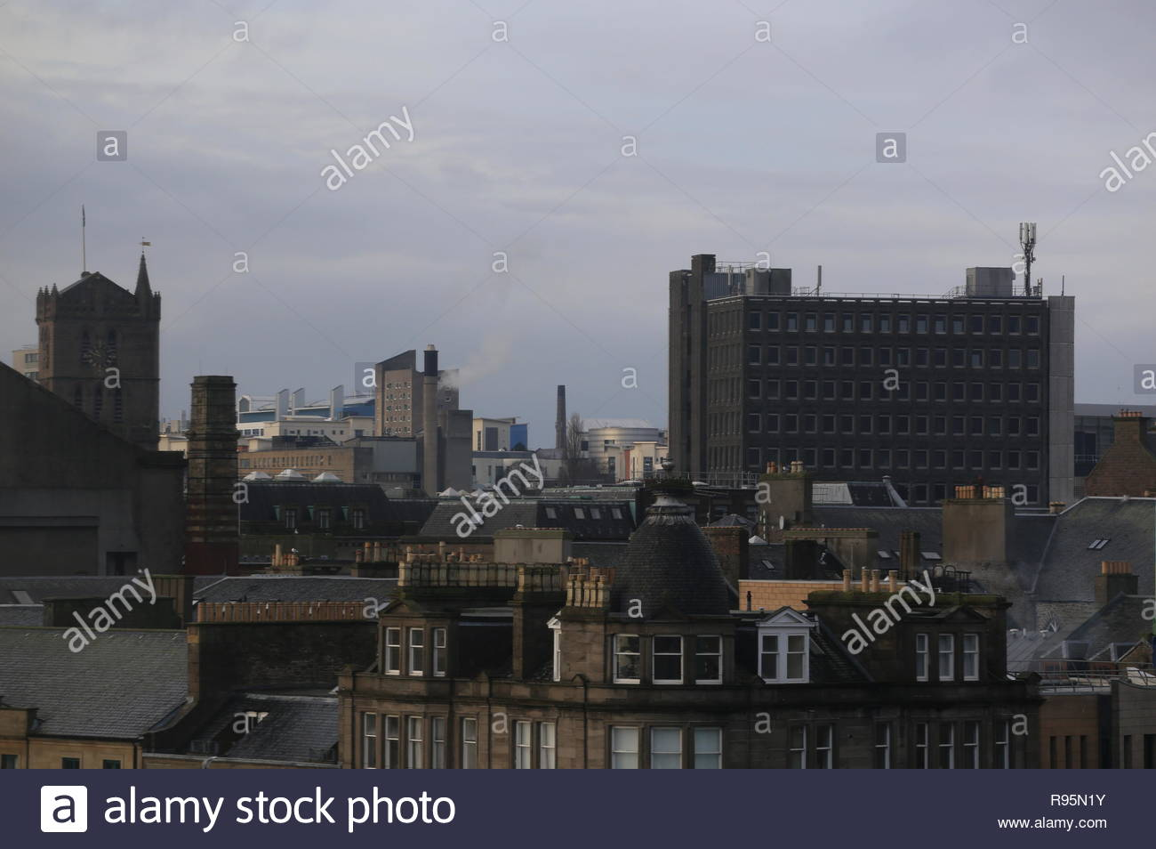 City House office block part of Overgate Centre Dundee Scotland  December 2018 - Stock Image