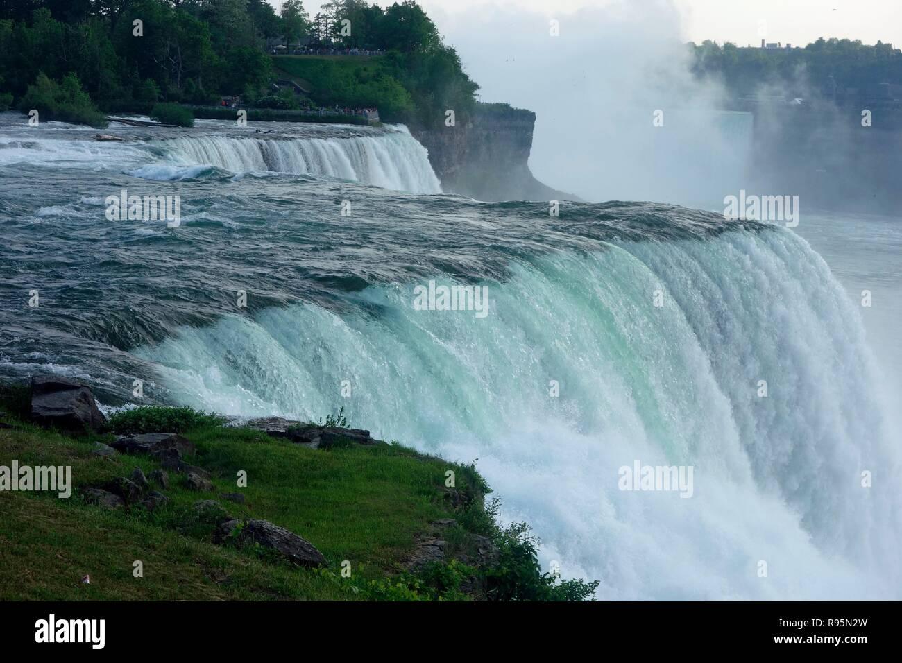 Niagara Falls From The American Side Niagara Falls New
