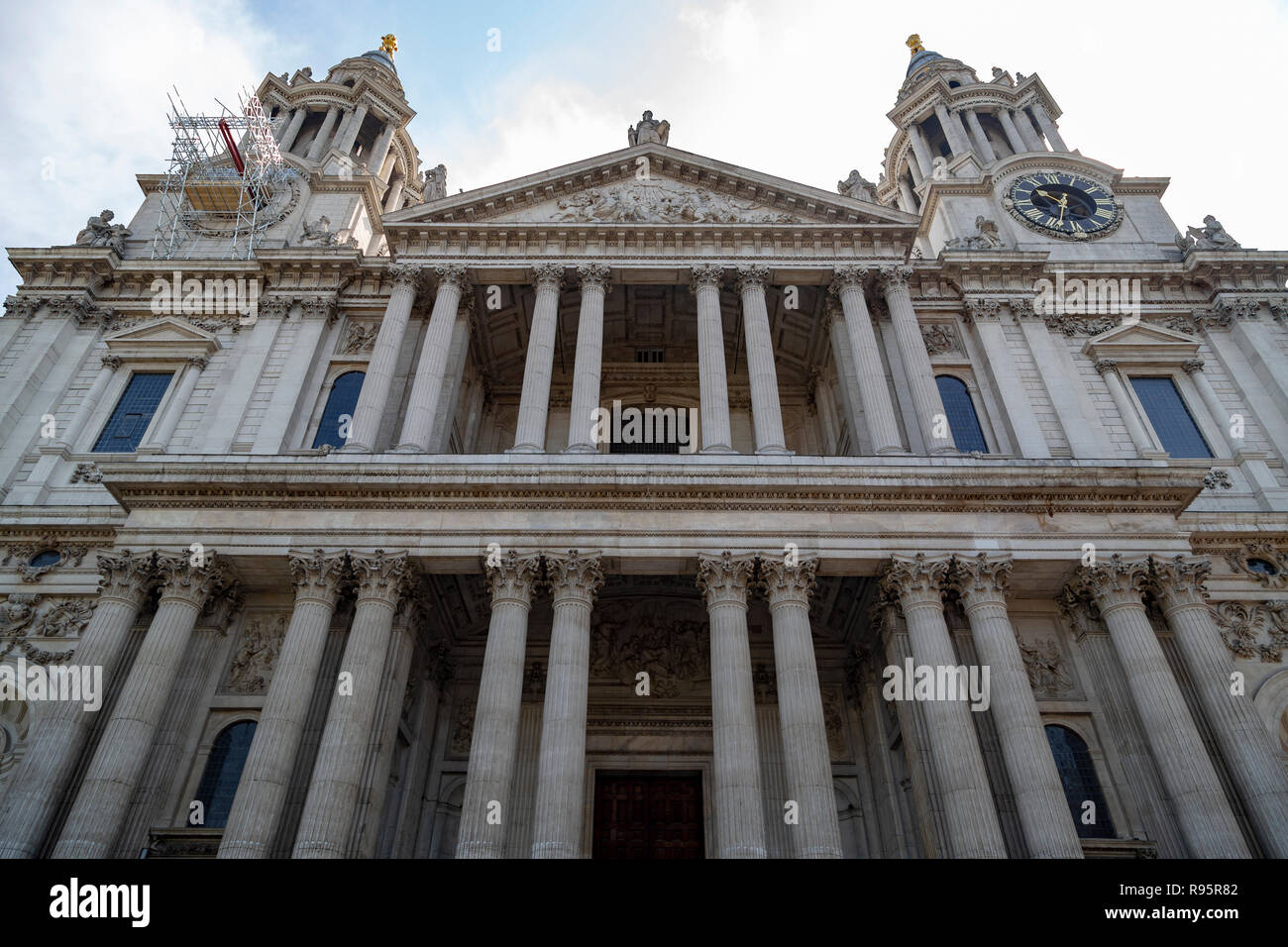 London St Paul Pauls Cathedral in England - Stock Image