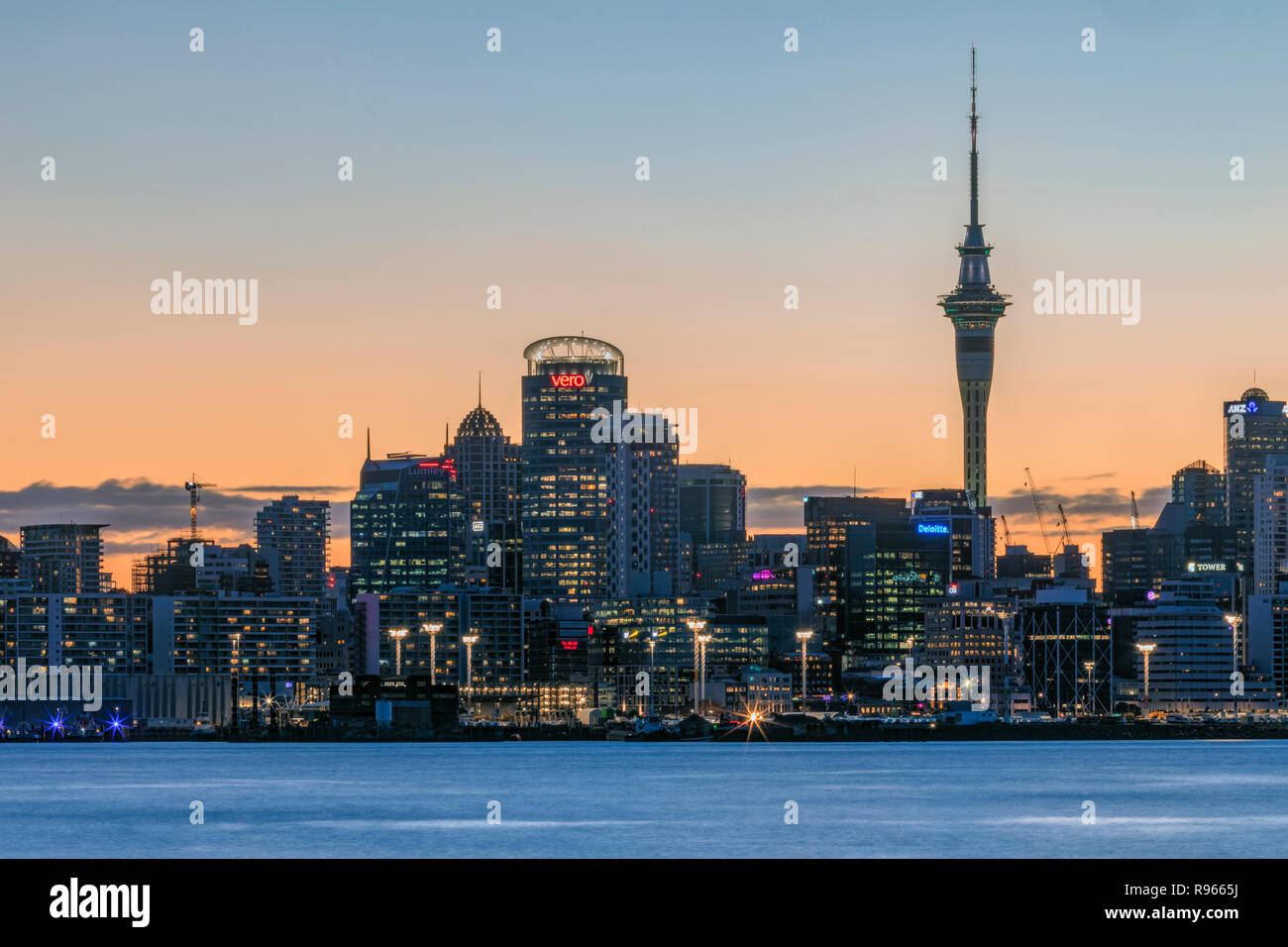 Auckland, North Island, New Zealand - Stock Image