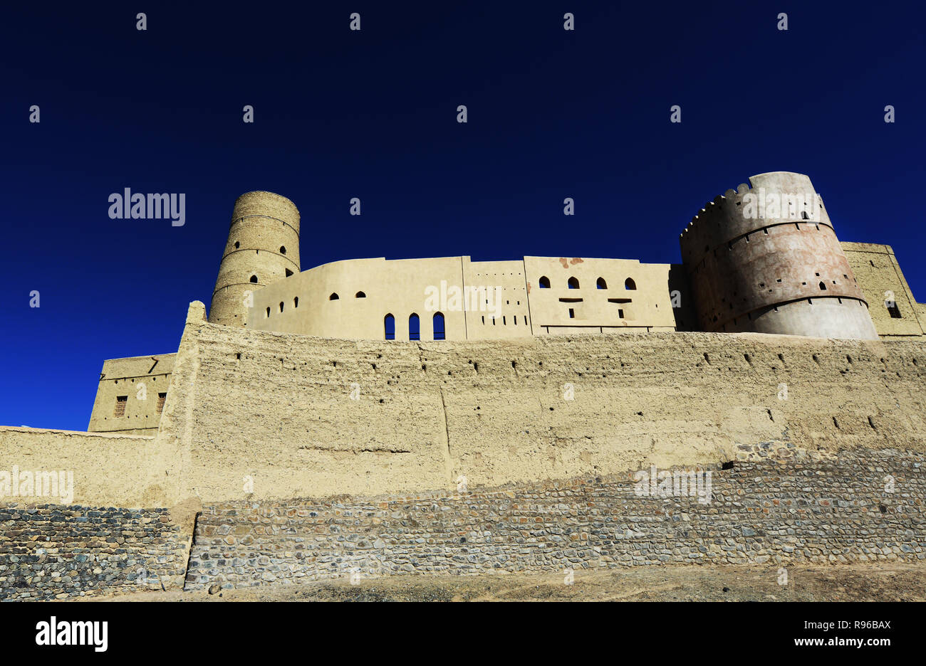 Bahla fort in Oman. - Stock Image