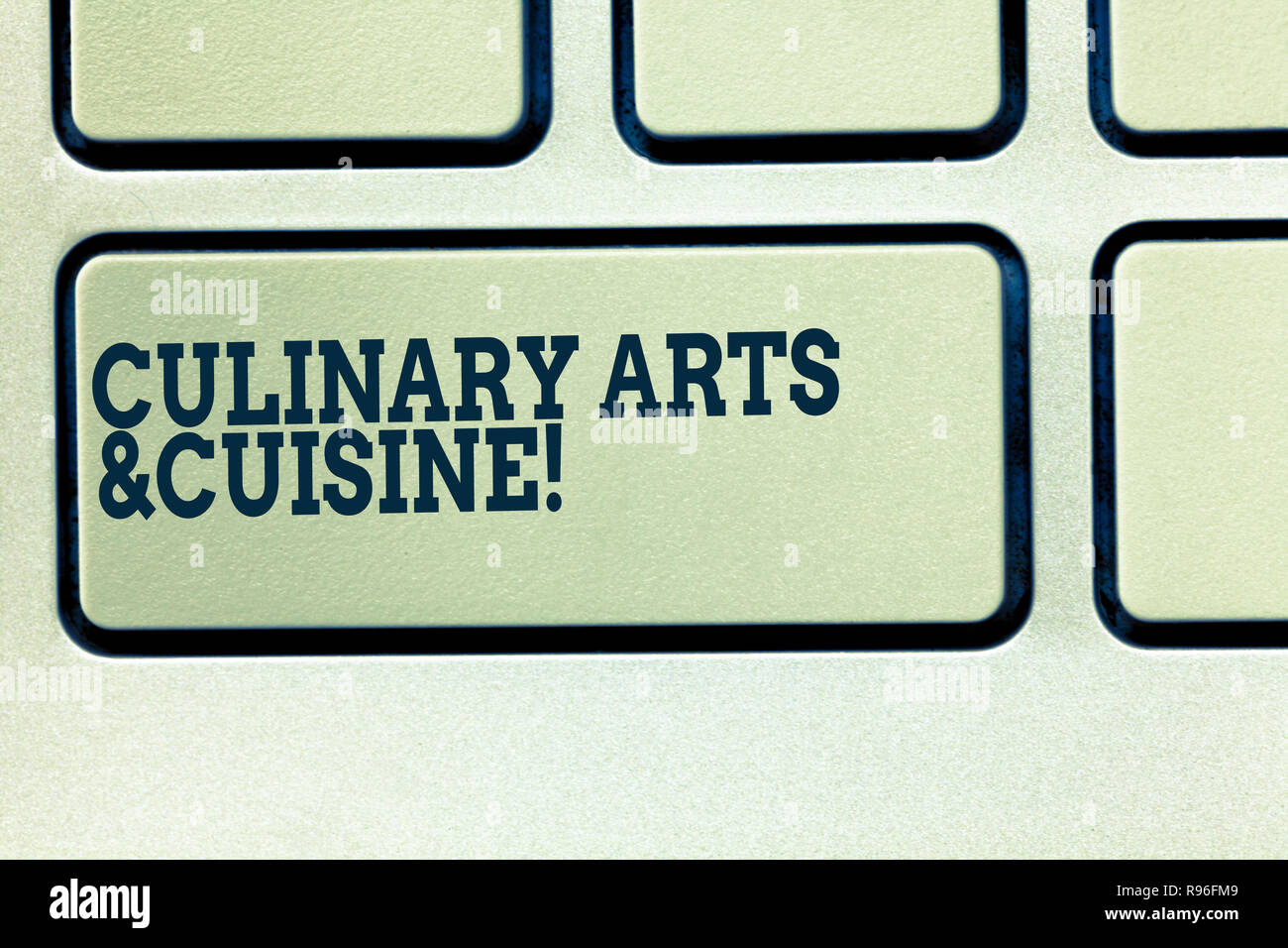 Handwriting text writing Culinary Arts And Cuisine. Concept
