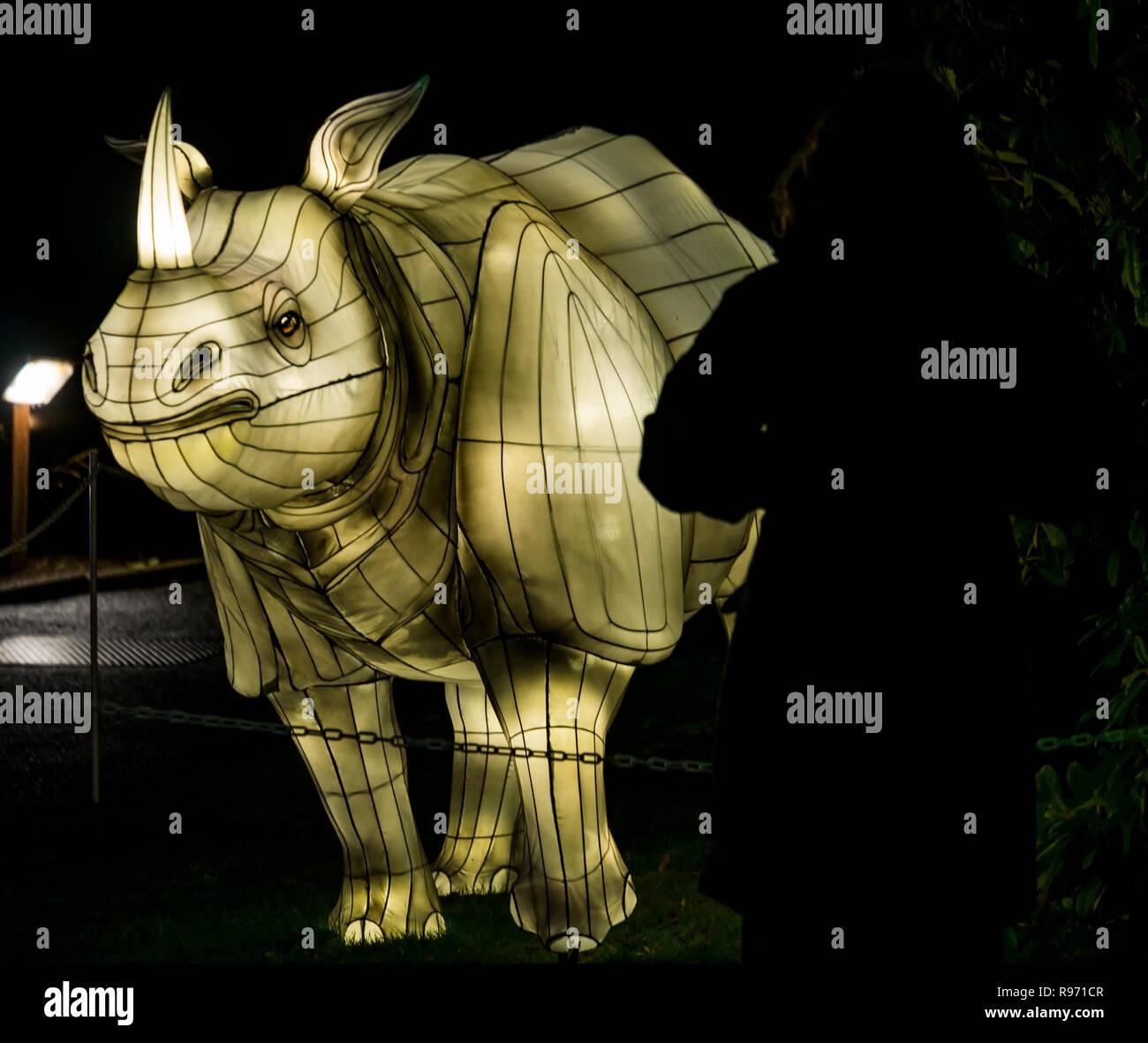 Rhino Edinburgh Zoo Stock Photos & Rhino Edinburgh Zoo