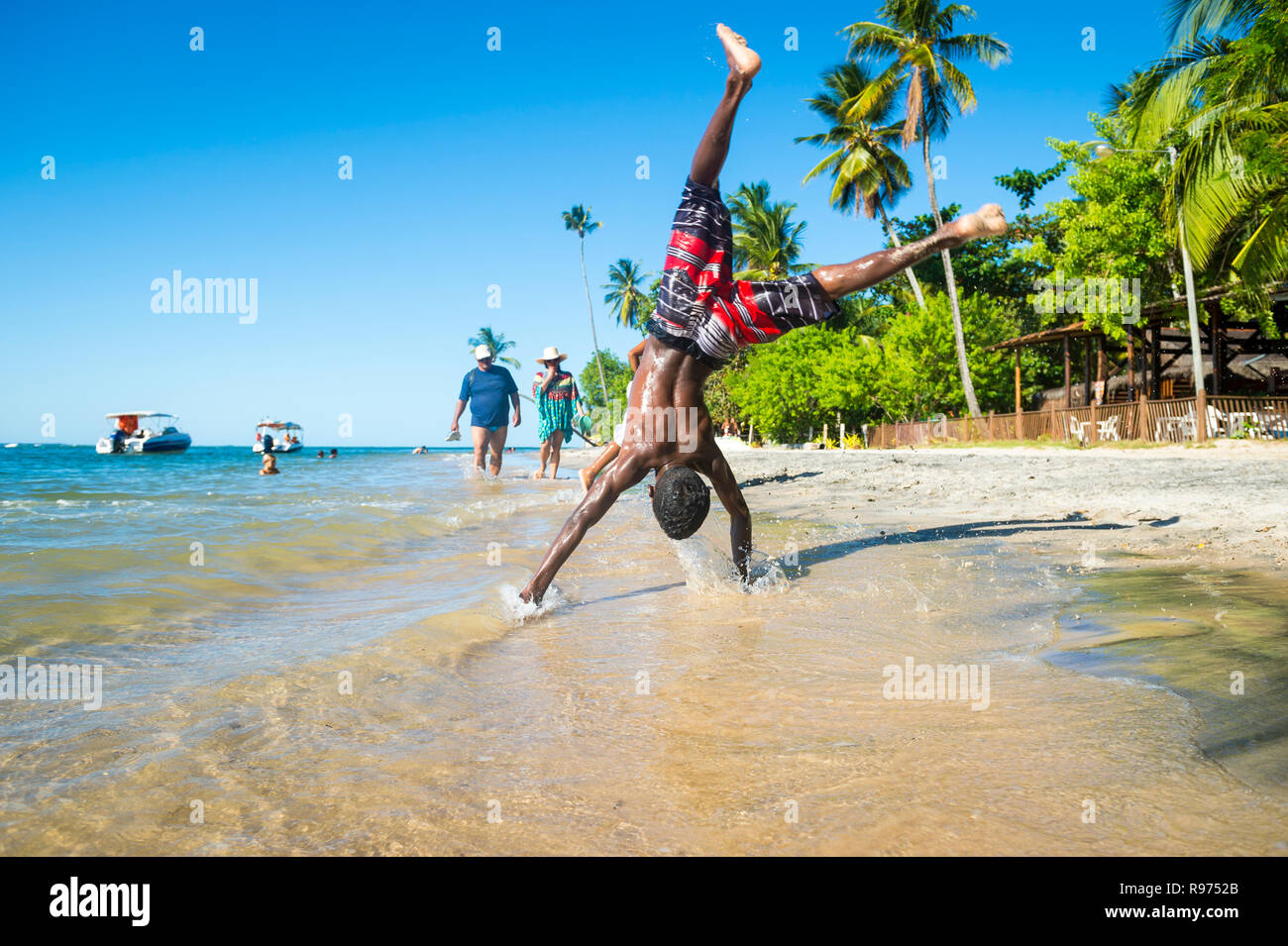 5d4c46eb397ed3 Doing Flips On Beach Stock Photos   Doing Flips On Beach Stock ...