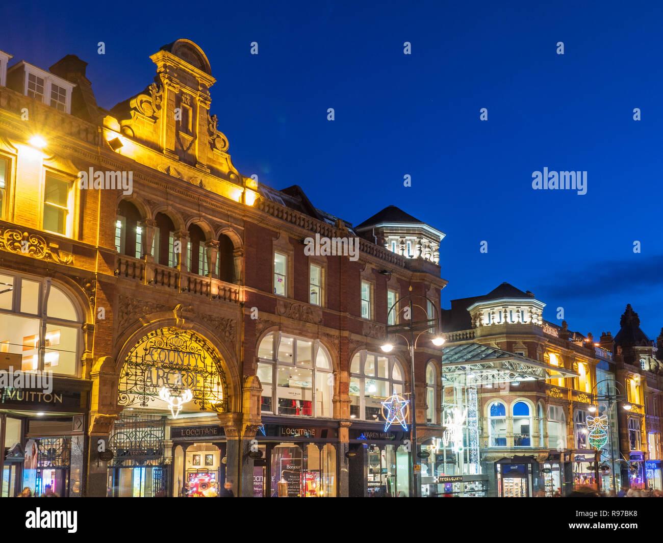 Leeds West Yorkshire England - Stock Image