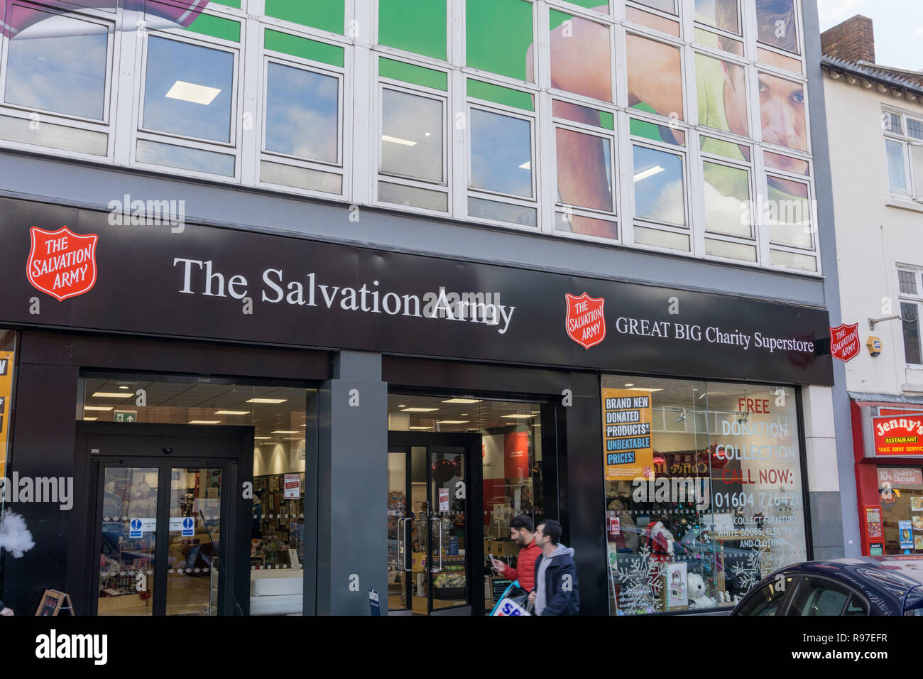 The Salvation Army's first Great Big Charity Superstore opened in 2017, Northampton, UK - Stock Image