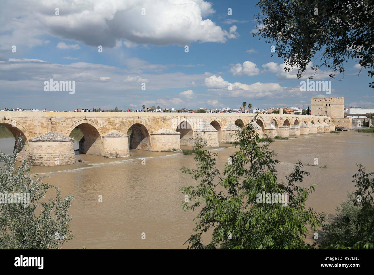 Puente Romano, Cordoba, Spain Stock Photo