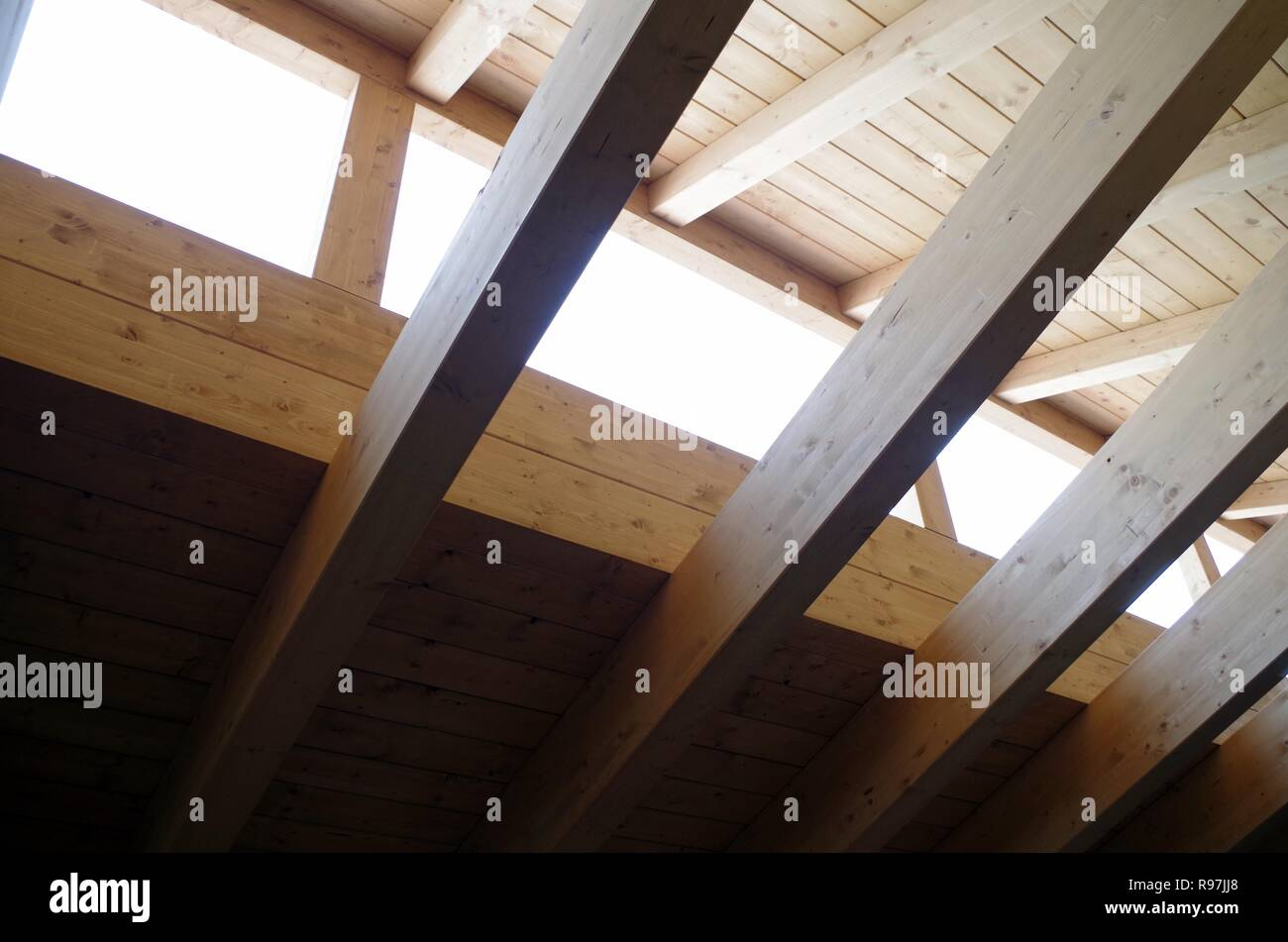 In Legno Wood Design wood architecture building near milan laminated timber