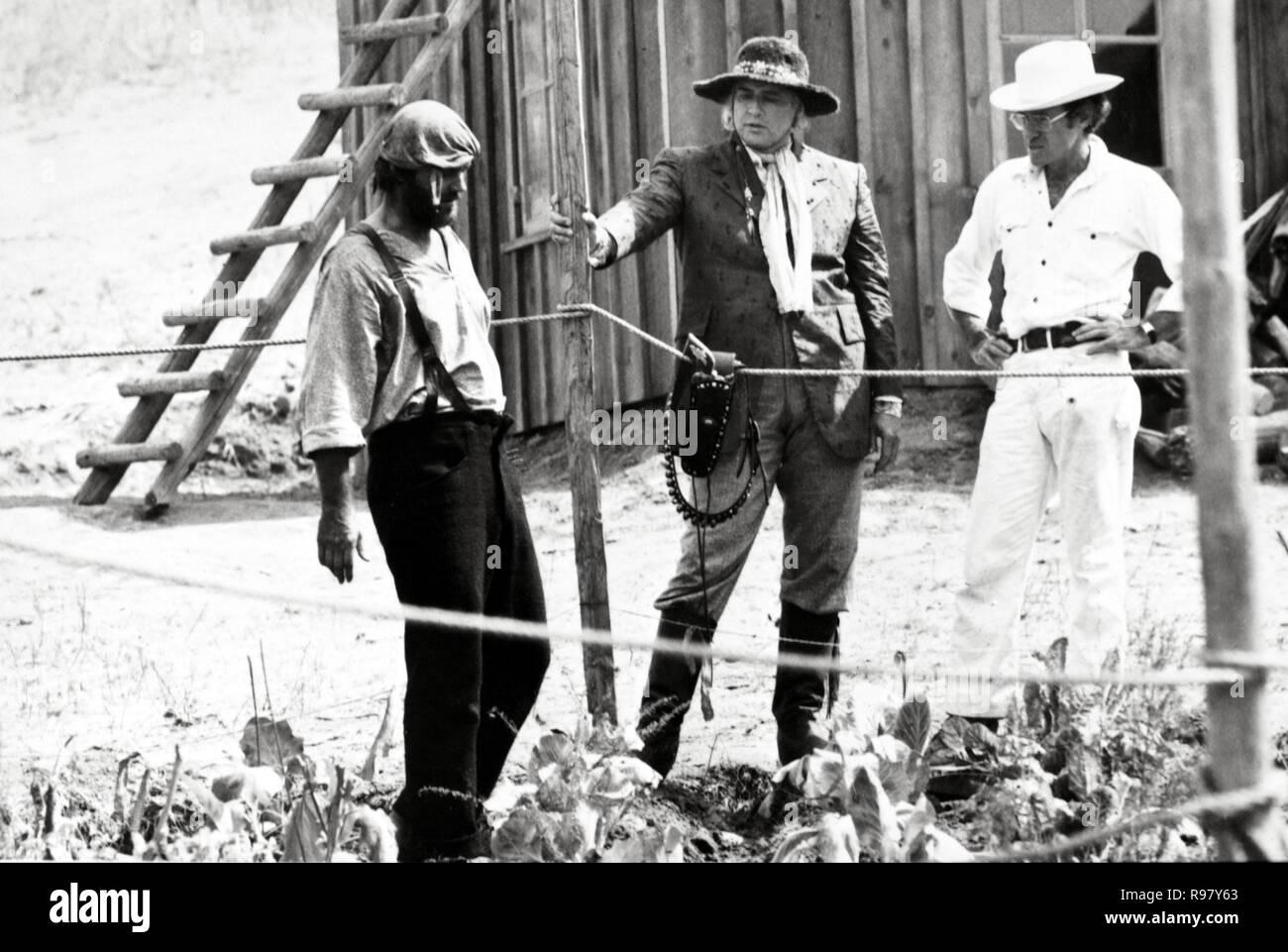 Original film title: THE MISSOURI BREAKS. English title: THE MISSOURI BREAKS. Year: 1976. Director: ARTHUR PENN. Stars: ARTHUR PENN; JACK NICHOLSON; MARLON BRANDO. Credit: UNITED ARTISTS / Album - Stock Image