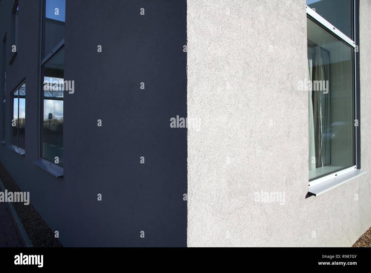 The Hilton Hampton Hotel, London Gatwick Airport, Using Weber exterior render - Stock Image