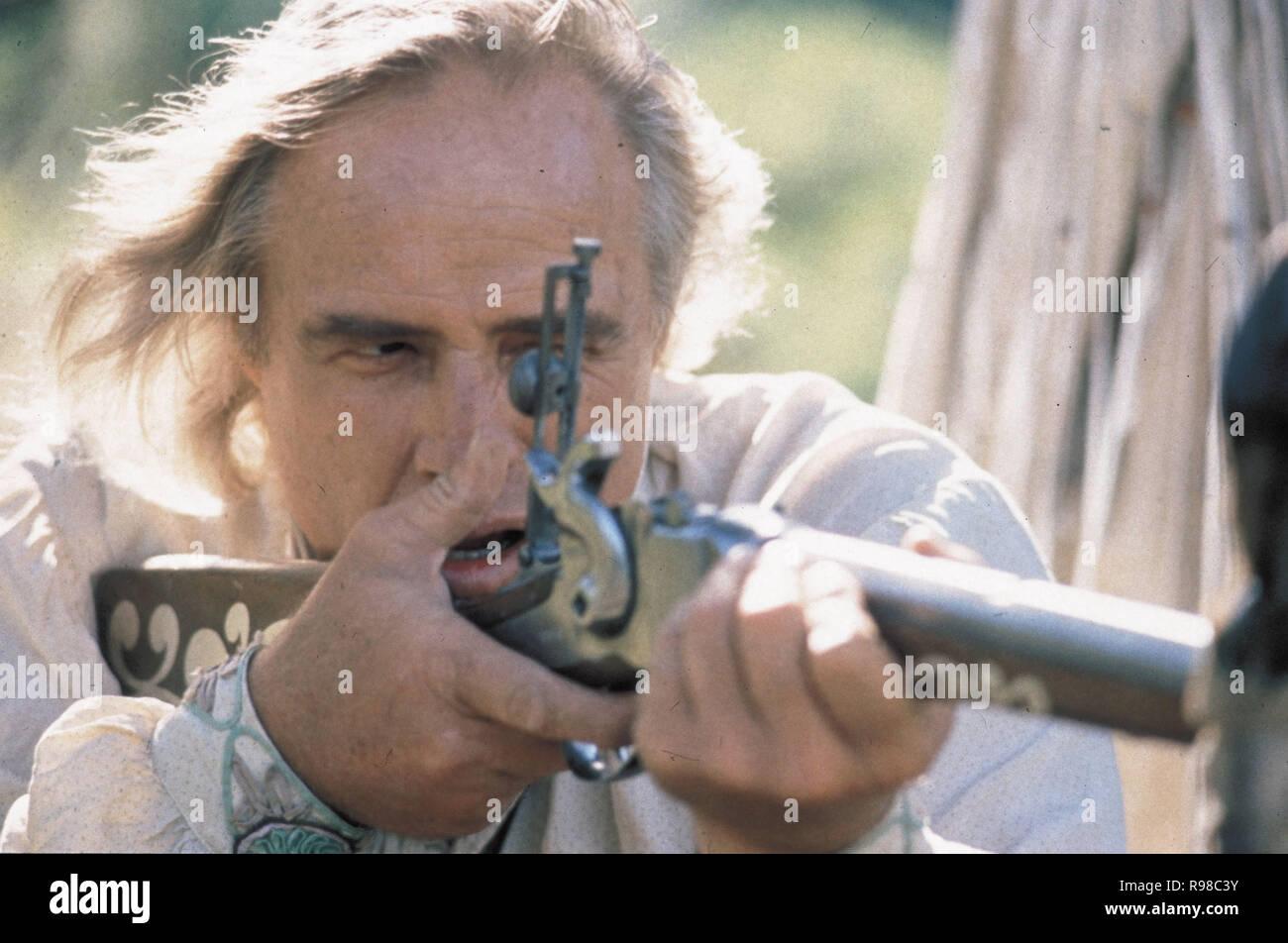 Original film title: THE MISSOURI BREAKS. English title: THE MISSOURI BREAKS. Year: 1976. Director: ARTHUR PENN. Stars: MARLON BRANDO. Credit: UNITED ARTISTS / Album - Stock Image