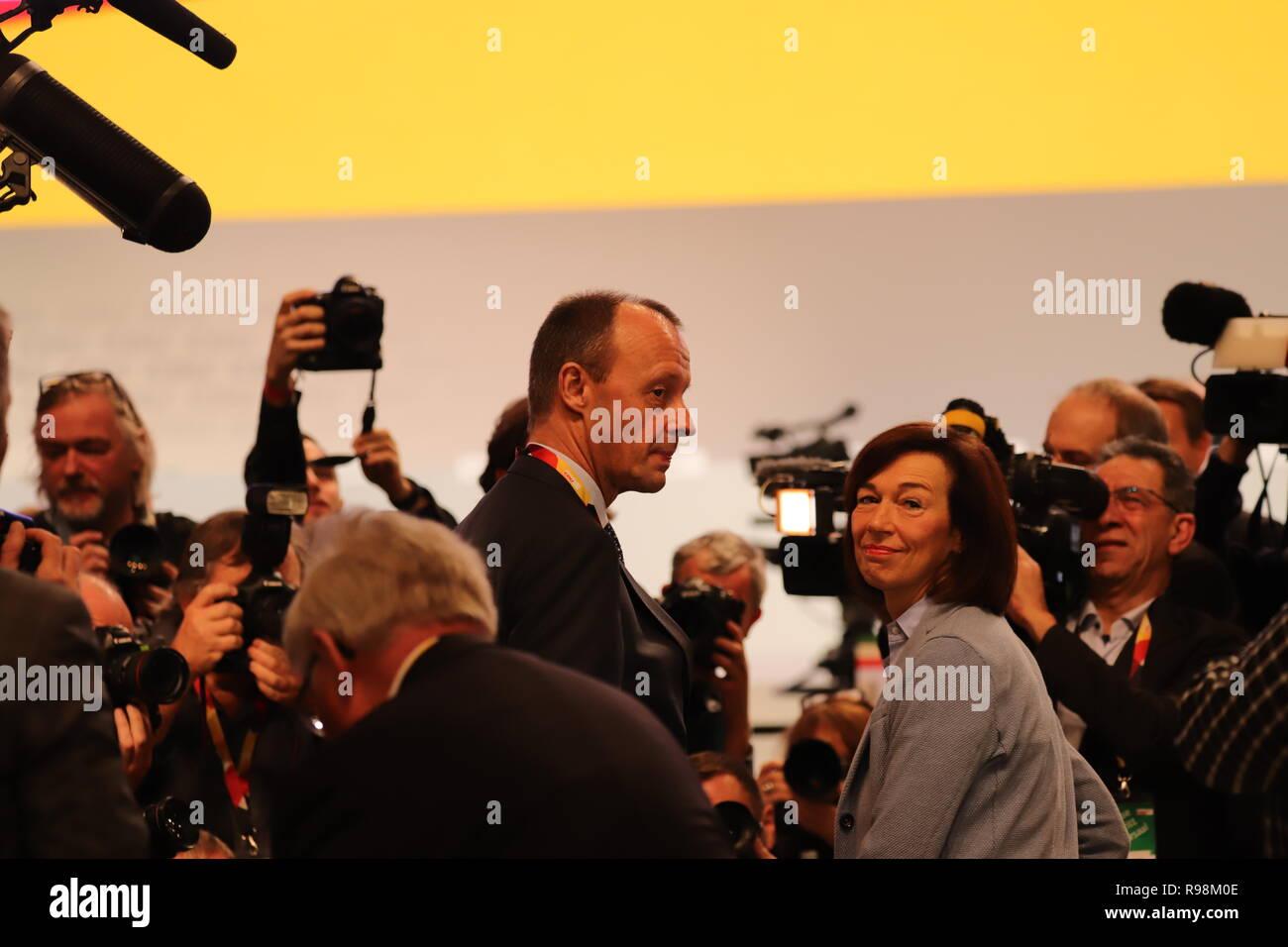 31. CDU-Bundesparteitag in Hamburg: Fridrich Merz - Stock Image