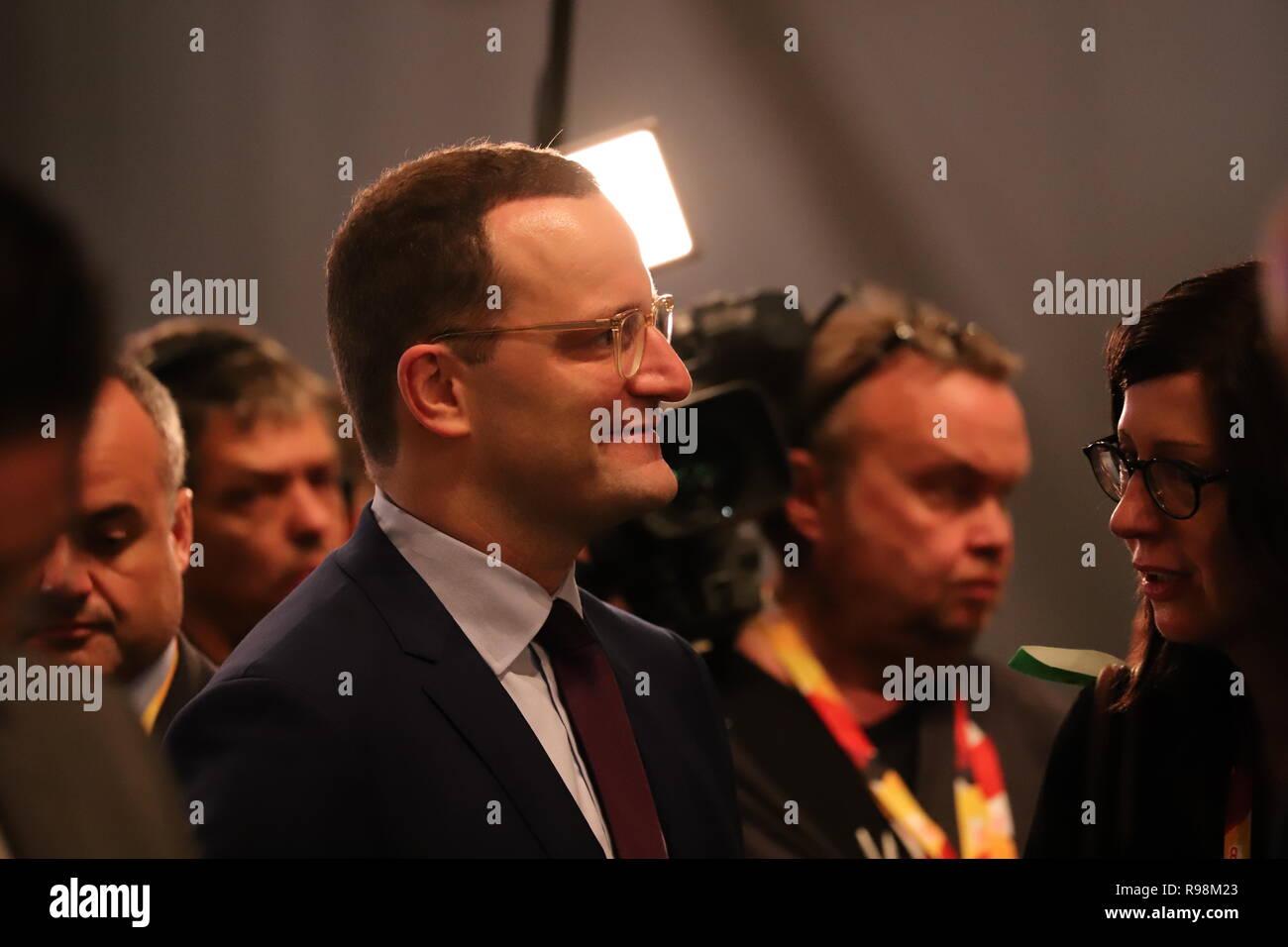 31. CDU-Bundesparteitag in Hamburg: Jens Spahn - Stock Image
