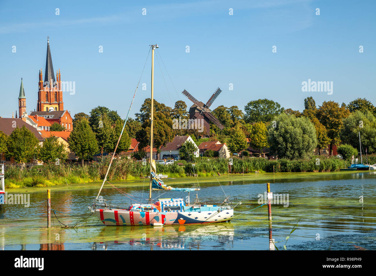 Werder Church Stock Photos Werder Church Stock Images Alamy