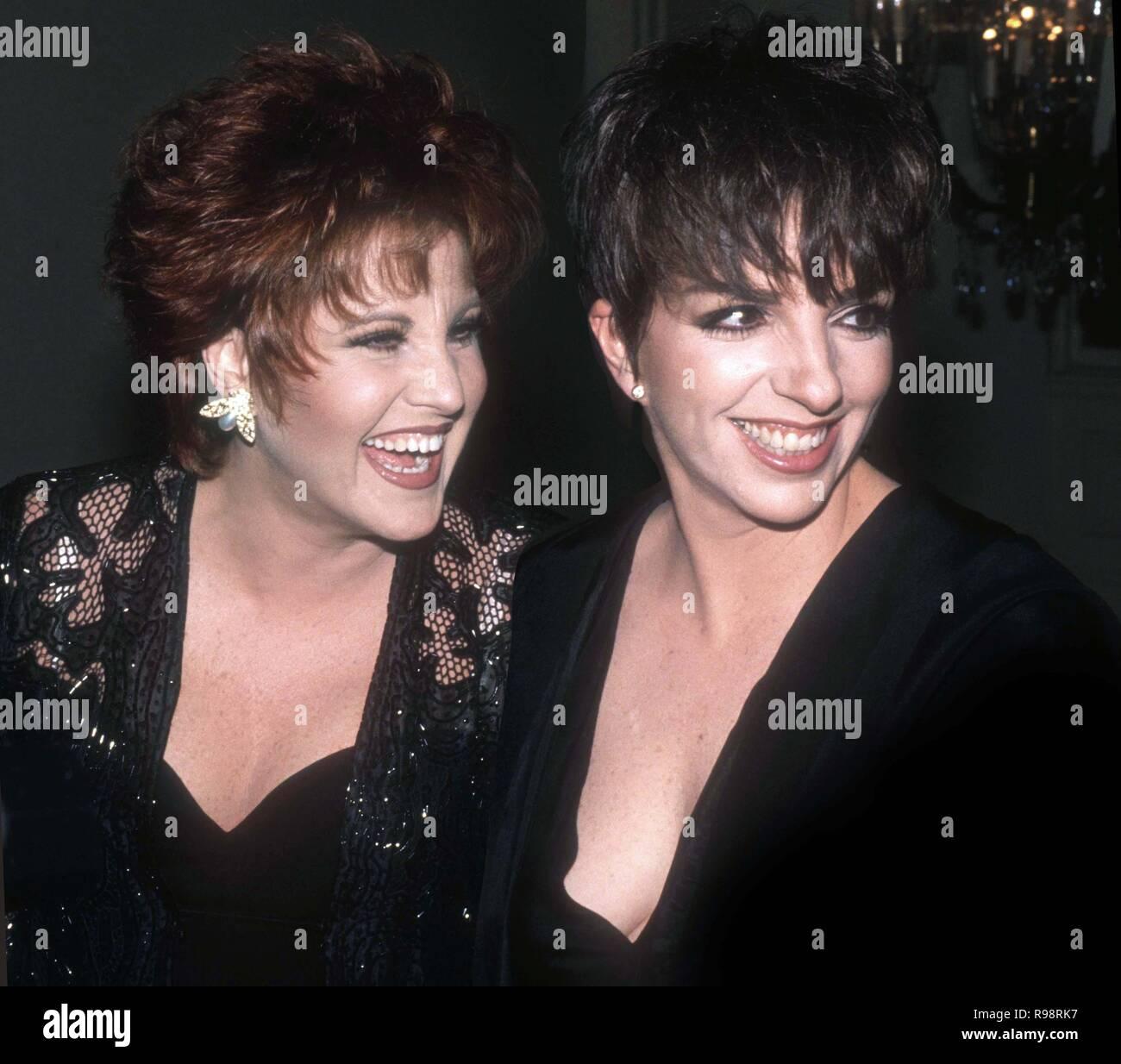 Liza Minnelli And Lorna Luft Stock Photos & Liza Minnelli