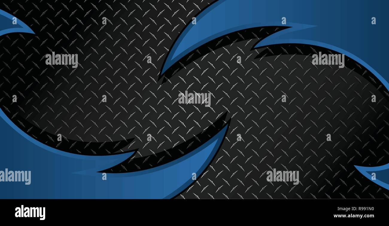Razor Diamond Plate Textured Vector Background Illustration - Stock Vector