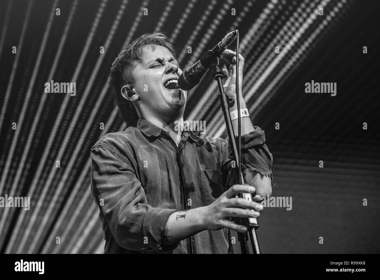 Artists perform at the Roundhouse for Music 4 Mental Health  Featuring: Conor Mason Where: London, United Kingdom When: 18 Nov 2018 Credit: Neil Lupin/WENN Stock Photo