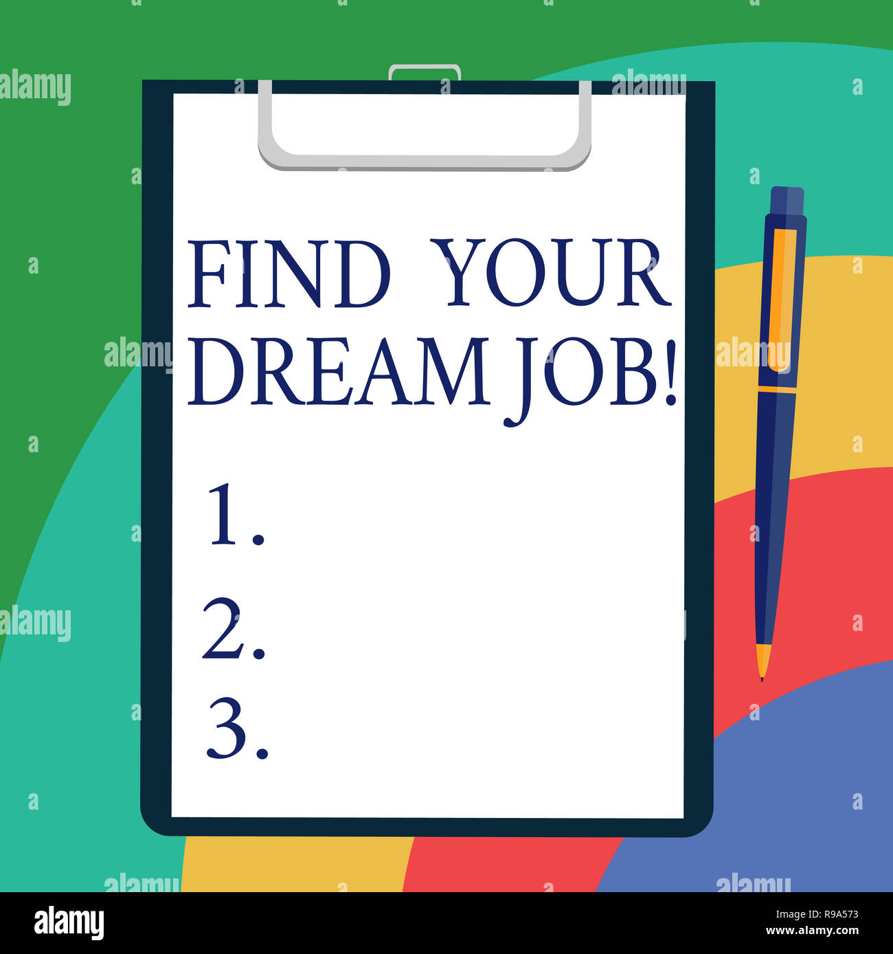 Conceptual Hand Writing Showing Find Your Dream Job Business Photo