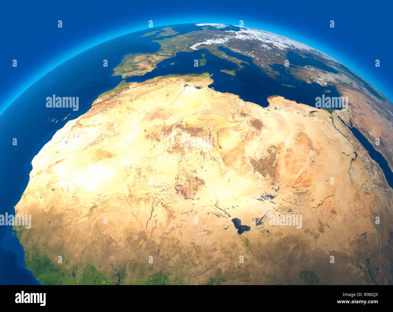 Map Of The World Satellite.Physical Map Of The World Satellite View Of North And Central
